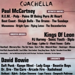 Coachella 2011 Lineup Rumors