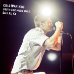 Cold War Kids – South Side Music Hall – Dallas