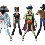 "Gorillaz, James Murphy & André 3000 – ""DoYaThing"""