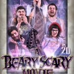 IWRESTLEDABEARONCE premiere trailer for their new horror film A Beary Scary Movie