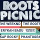 Lineup Announced for 8th Annual Roots Picnic, Party Assured