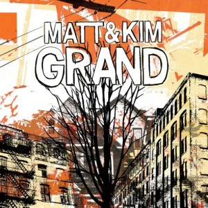 Matt & Kim - Grand Album Art
