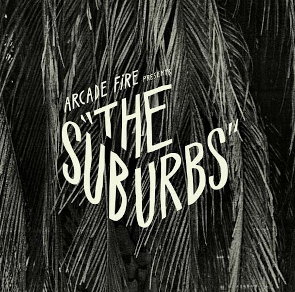 Arcade Fire The Suburbs Cover Art - Back