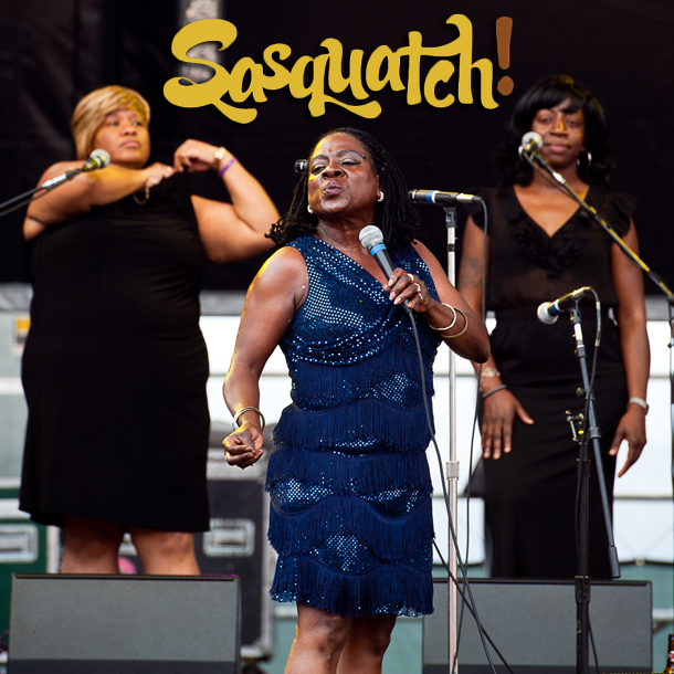 Sharon Jones & The Dap-Kings - Sasquatch Day 4