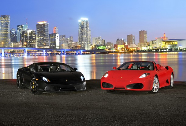 HertzDreamCars_Porsche and Ferrari