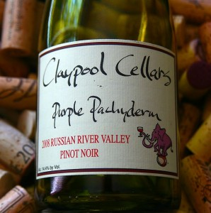 2011 Claypool Cellars Pinot Noir Russian River Valley