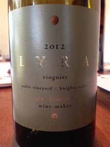 "2011 Sean Thackrey ""Lyra"" Viognier California"