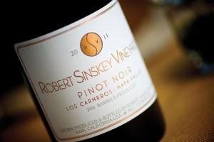 2010 Robert Sinskey POV Los Carneros