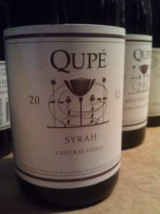 2012 Qupe-Verdad Central Coast Syrah